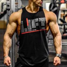 Gym HOMBRE Punisher CAMISA SIN MANGAS camiseta de tirantes CULTURISMO DEPORTE