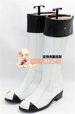 Kantai Collection Battleship Symbiotic Hime White Cosplay Shoes Boots X002