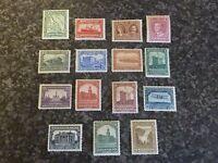 NEWFOUNDLAND POSTAGE STAMPS SG164-178 1928-9 UMM & LMM