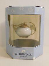 New listing Vintage Wedgwood Tea Pot Ornament in original box unused
