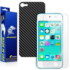 ArmorSuit MilitaryShield Apple iPod Touch 6G Screen Protector + Black Carbon