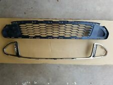 fits 2010-2012 FORD FUSION SPORT V6 Lower Grille & Chrome Molding PAIR 2PC SET