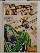 DC Comics ALL AMERICAN MEN OF WAR #81 (1960) Russ Heath Cover