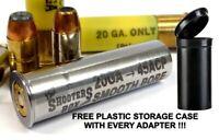 20GA to 45 ACP Shotgun Adapter - Chamber Reducer - Stainless - Free Case & Ship!