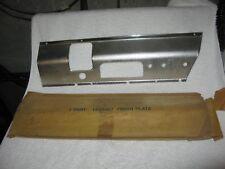 NOS Mopar 1959 Plymouth Radio Dash Plate
