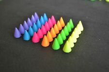 10 MM Cone Screw back Metal Studs Leather craft Rivet Bullet Spikes Spots