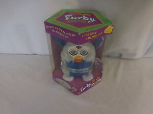 Furby 1999 Vintage Silver Special Millennium Edition Electronic New 70 894