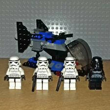 LEGO STAR WARS SET - 7667 - IMPERIAL DROPSHIP, INC SHADOW+STORM TROOPER MINIFIGS