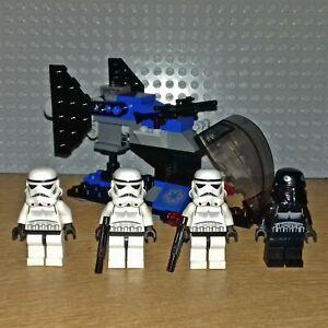 LEGO STAR WARS SET - 7667 - IMPERIAL DROPSHIP, INC SHADOW+STORM TROOPER MINIFIGS