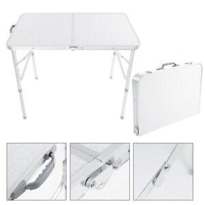 Campingtisch Balkontisch Gartentisch Reisetisch 90x60cm Alu Gestell klappbar