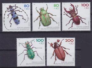 Federal Mi No. 1666 - 1670, Bug 1993, Mint, MNH
