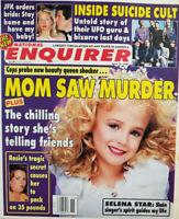 National Enquirer April 15 1997 JonBenet Mom Saw Murder - UFO Suicide Cult - JFK