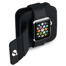 iWatch Charging Wallet Holder Charge Dock Protect Case Covers for Apple Watch US