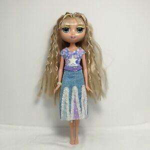 """Mattel Diva Starz Stars MIRANDA Blonde Doll 12"""" 2001 Talking Mouth Lights Up"""