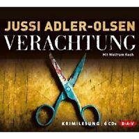 JUSSI ADLER-OLSEN - VERACHTUNG 6 CD NEU