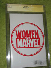 ONLY 1 IN THE WORLD  per CGC 9.8 SS Thor 614 SIF WOMEN OF MARVEL SIGNED STAN LEE