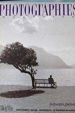 PHOTOGRAPHIES MAGAZINE N° 20 de 1990 PAYSAGES RODTCHENKO NIXON MANDEREAU