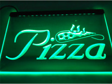 Pizza Slice Restaurant Store Pub Beer Bar Shop Fast Food Led Light Sign Neon New