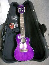 More details for lanikai qmpucec concert uke ukulele & padded gigbag fast free secure shipping