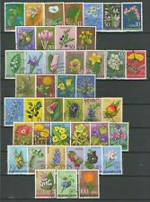 Yugoslavia 1960/1985 ☀ Flowers lot ☀ Used