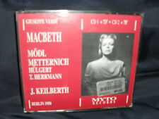 Verdi - Macbeth -Mödl / Metternich / Keilberth -2CDs