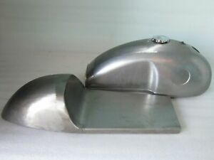 FIT FOR Benelli Mojave Cafe Racer Raw Petrol Tank With Seat Hood And Petrol Cap