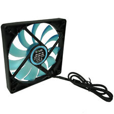 GELID Solutions Slim 12 UV Blue Silent Slim 120mm Ultraviolet Reactive Case Fan