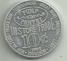 1994 aluminum token for Pump n Pantry – 10 cents in store trade