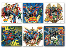 12 DC Comics Justice League Stickers Kid Party Goody Bag Filler Favor Supply