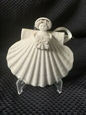 """New ListingLimited Edition Margaret Furlong Thanksgiving Angel 1991 5"""" Signed-W/Stand"""
