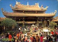 TAIWAN Postkarte Postcard Taipei Lugshan Temple, Tempel, Ansichtskarte ungelauf.