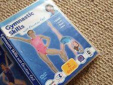 gymnastics skills with Christine Still, Floor, Vault, Bars and Beam training DVD