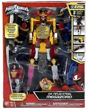 Sabans Power Rangers DX Ninja Steel Megazord 5 Mega Zords Combine SEE DESCRIP