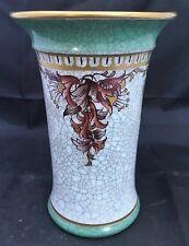 MCM Danish Dahl Jensen  Crackleware Vase