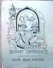 """Indiana Jones Fanzine """"Burnt Offerings"""" GEN"""