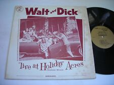Walt and Dick Live at Holiday Acres 1964 Mono LP