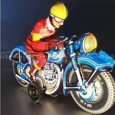TCO TIPPCO/WAGNER  UNBESPIELTES MOTORRAD  BLAU LITHOGRAPHIERT FRIKTIONSANTRIEB