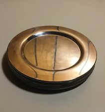 """6 Vintage WM A Rogers Round Silverplate Bread Butter Plate 6"""""""
