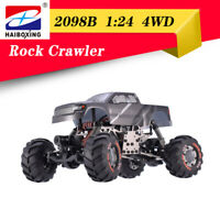 HBX 2098B 1:24 2.4G 4WD 4WS Devastator Rock Crawler RTR Off-road  Climber RC Car