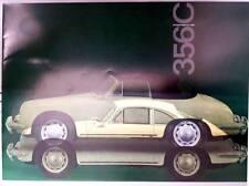 Più raramente prospetto PORSCHE 356 C 1600 1964 Coupe e Cabrio W 22 10 M 3. 64 GI