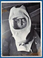 amazing vintage photo police & firemen gas mask masque à gaz France WW2 ca 1939