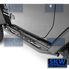 2 Door Rock Crawler Slider Star Step Armor Rocker Guards for 07-17 Jeep Wrangler
