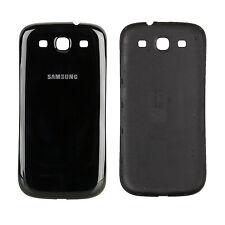 Akkudeckel Backcover Rückcover Akkuabeckung für Samsung Galaxy S3 i9300 Schwarz