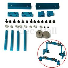 1 Set Alloy Magnetic Stealth Body Post Mount 1:10 RC Touring Car Blue