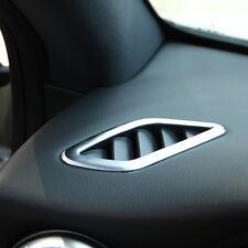 2pcs Dashboard Air Outlet Vent Trim For Mercedes Benz CLA GLA Class W117 2014-17