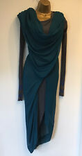 VIVIENNE WESTWOOD Gold Label Deconstructed Dress RARE AMAZING DESIGN Size S 8