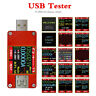 UT25 Capacity Energy Voltage Current Meter Color LCD Display Usb Type-C Tester