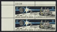 #1435b 8c U.S. In Space, Plate Block [33138 UL] Mint **ANY 4=FREE SHIPPING**