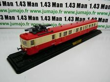 "Sncf am1g train railcars 1/87 oh: z 7100 7125 1960 ""woowoo southeast"""