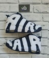 New Deadstock Nike Air More Uptempo GS Midnight Navy White 5 UK 5.5Y US 38 EU